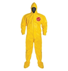 CleanHub Tychem 2000 Coveralls - Large (Case of 12)