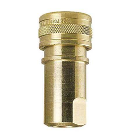 """Foster QD Female BRASS - 1/4"""" FPT - S/S Tip Viton - MADE IN USA"""