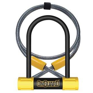 Onguard CADENAS OnGuard, Bulldog Mini DT 8015, U-Lock, 13mm x 90mm x 140mm / 10mm x 120cm
