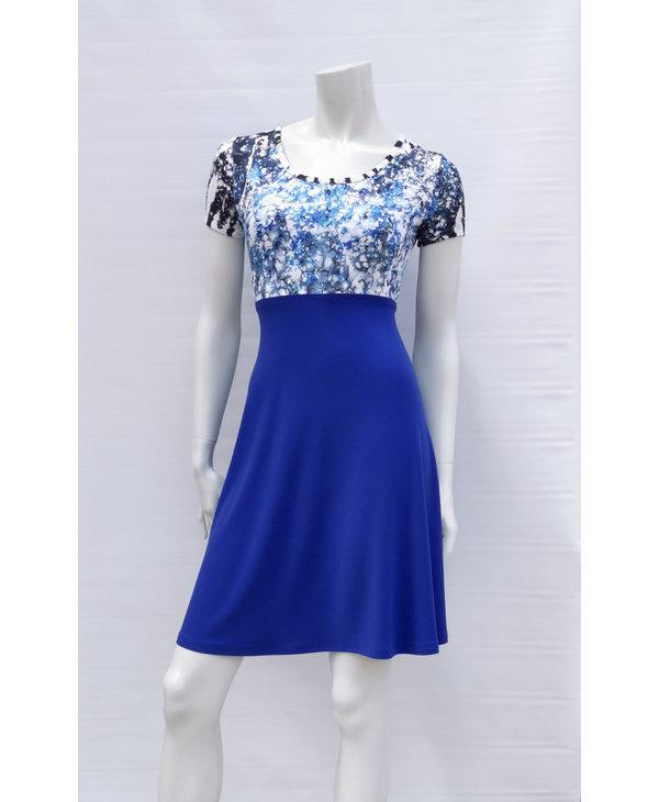 Madame Blue Dress