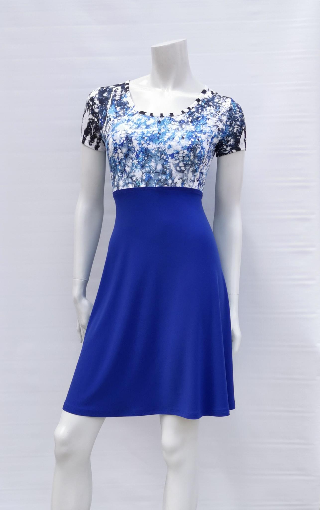Robe Madame Bleue