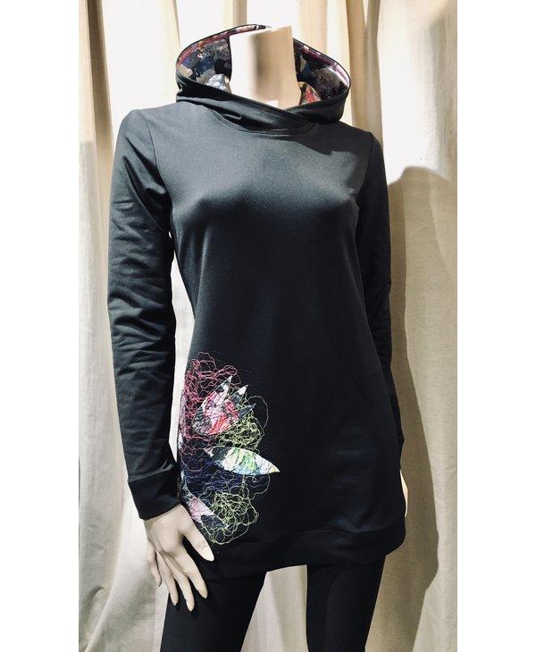 Textile Art Hoodie