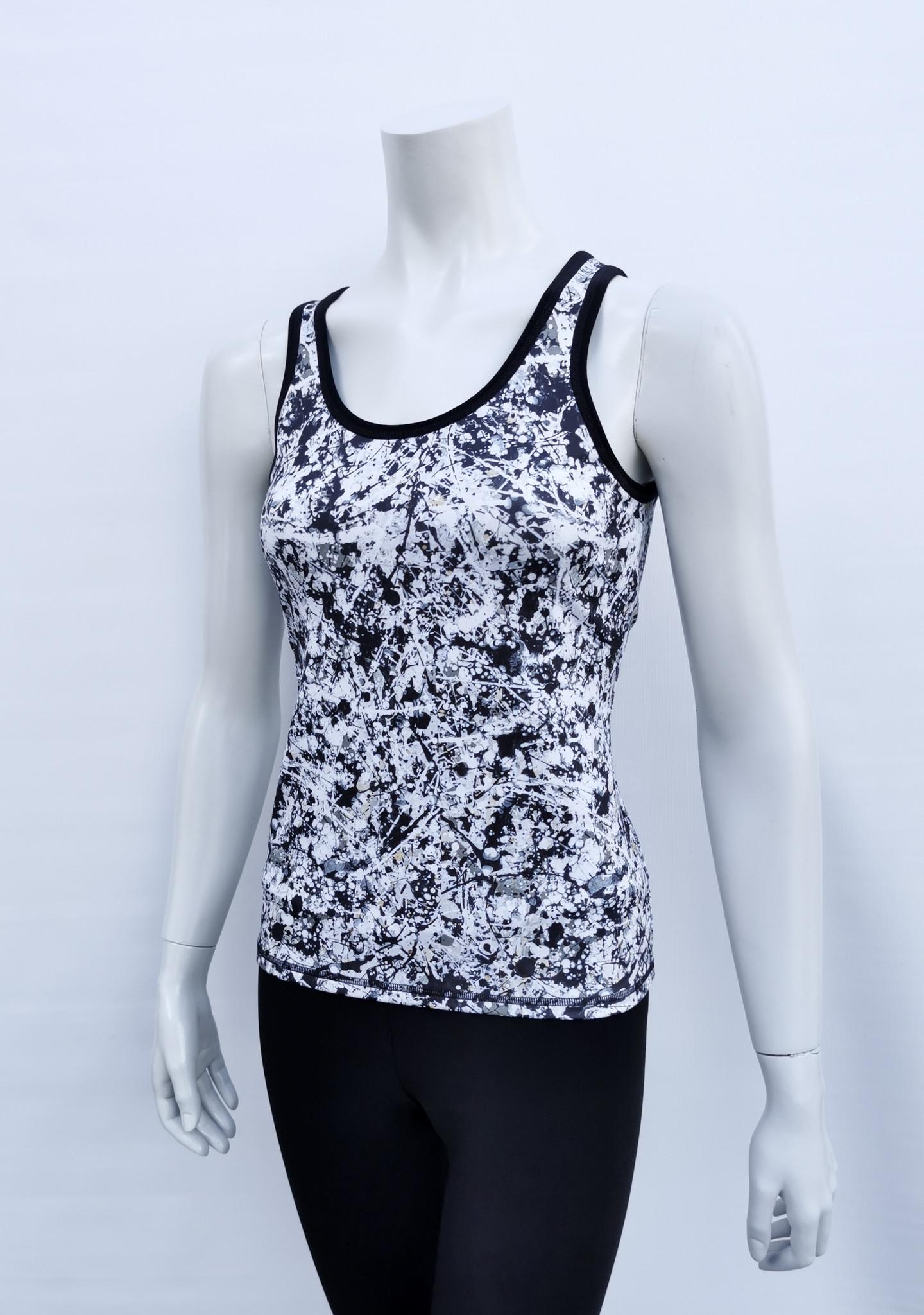Camisole Black N White