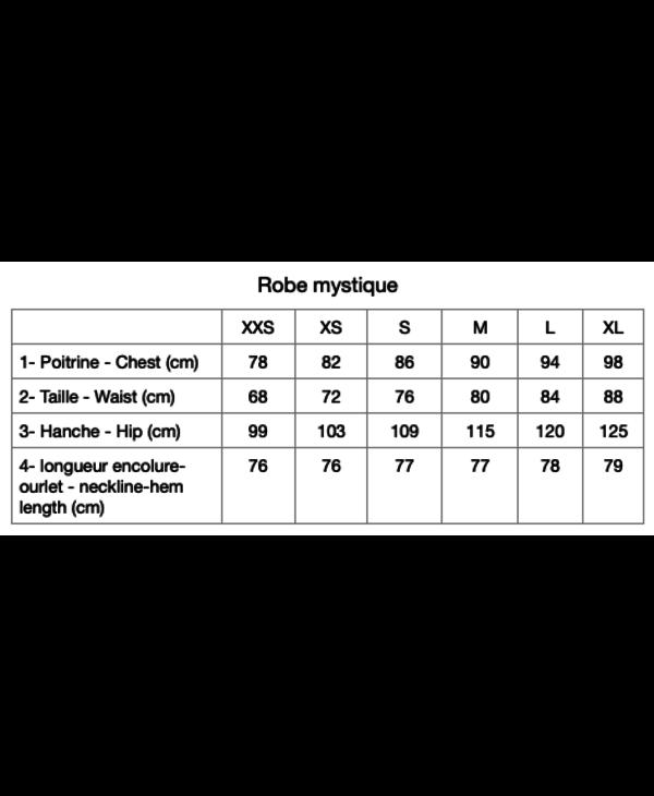 Robe Croûtes Mystique