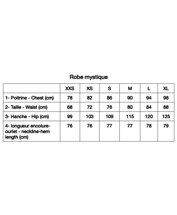 Robe Puzzle Mystique