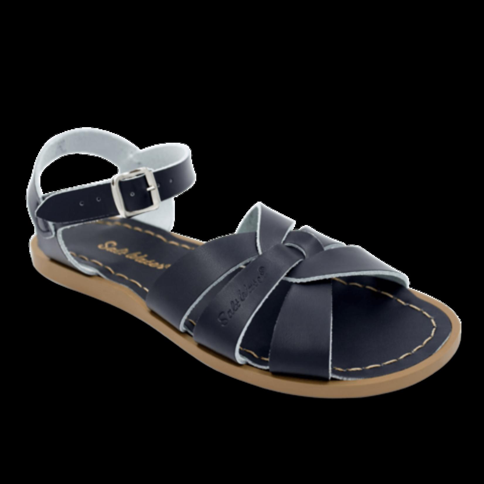 Hoy Shoe Co. Salt Water Sandals Black