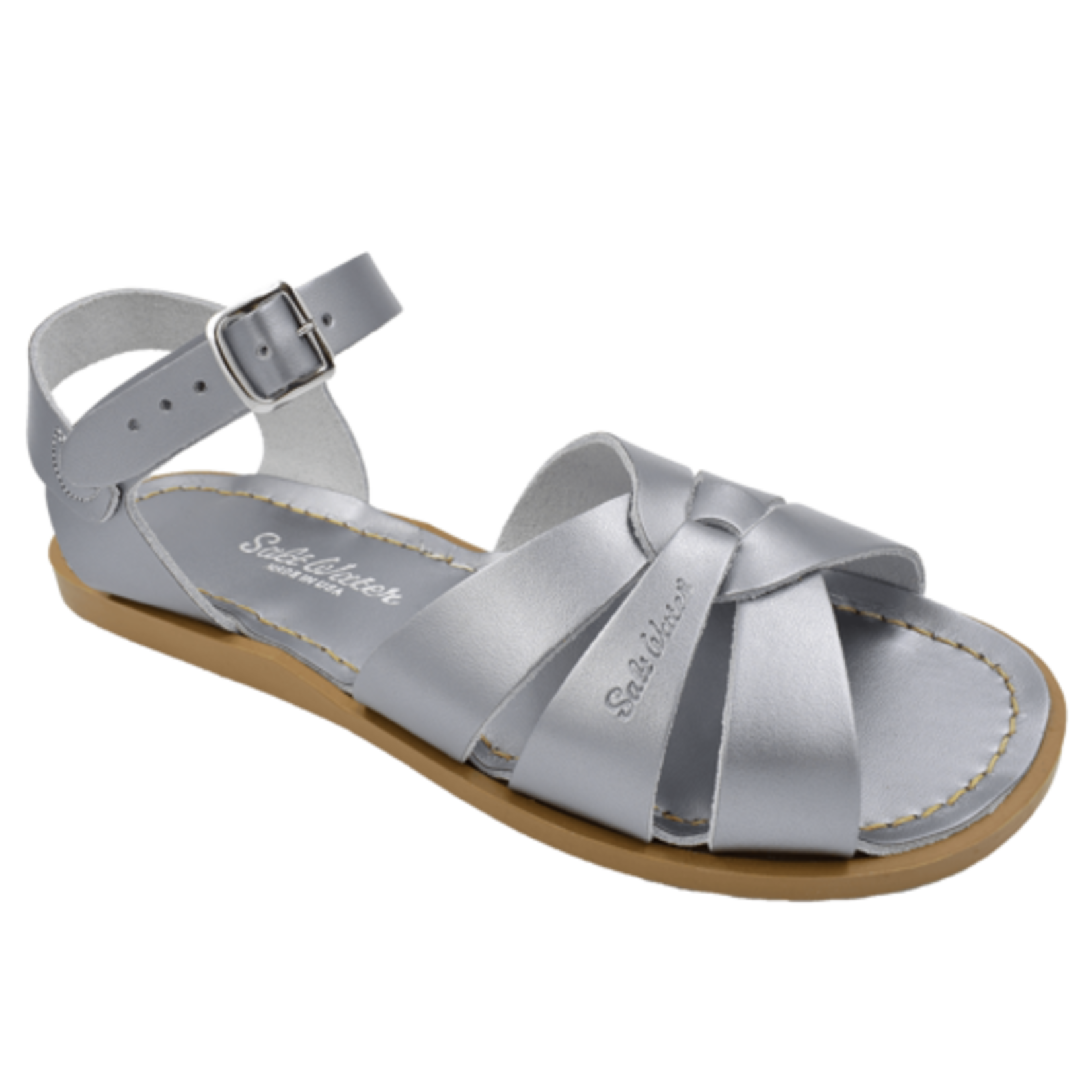 Hoy Shoe Co. Salt Water Sandals Pewter