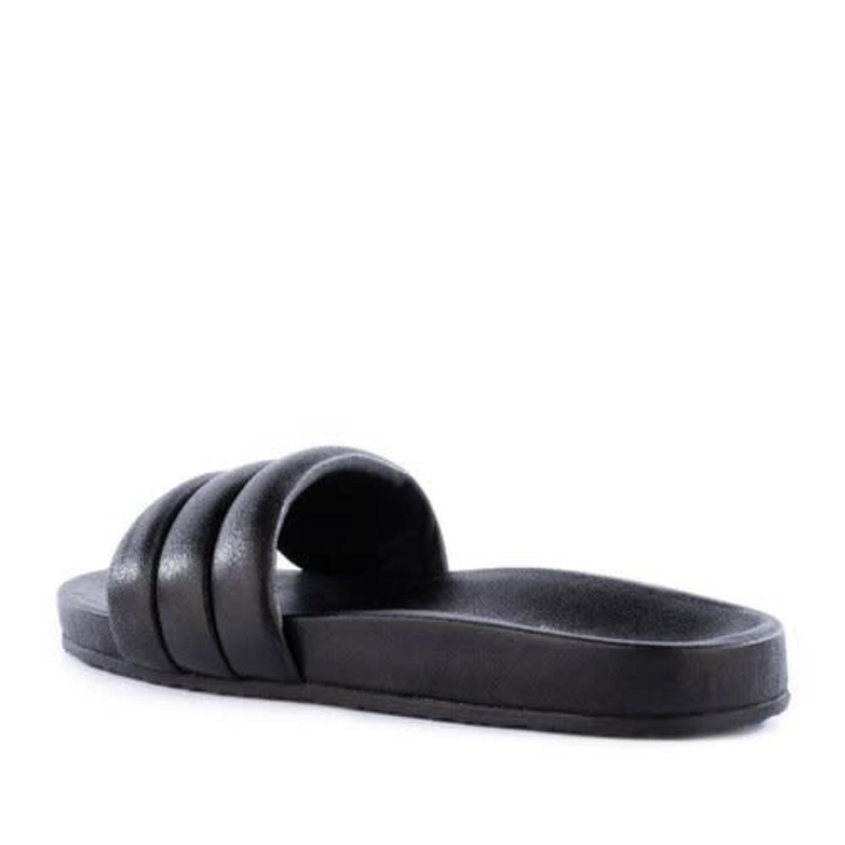 Seychelles Low Key Slide Black