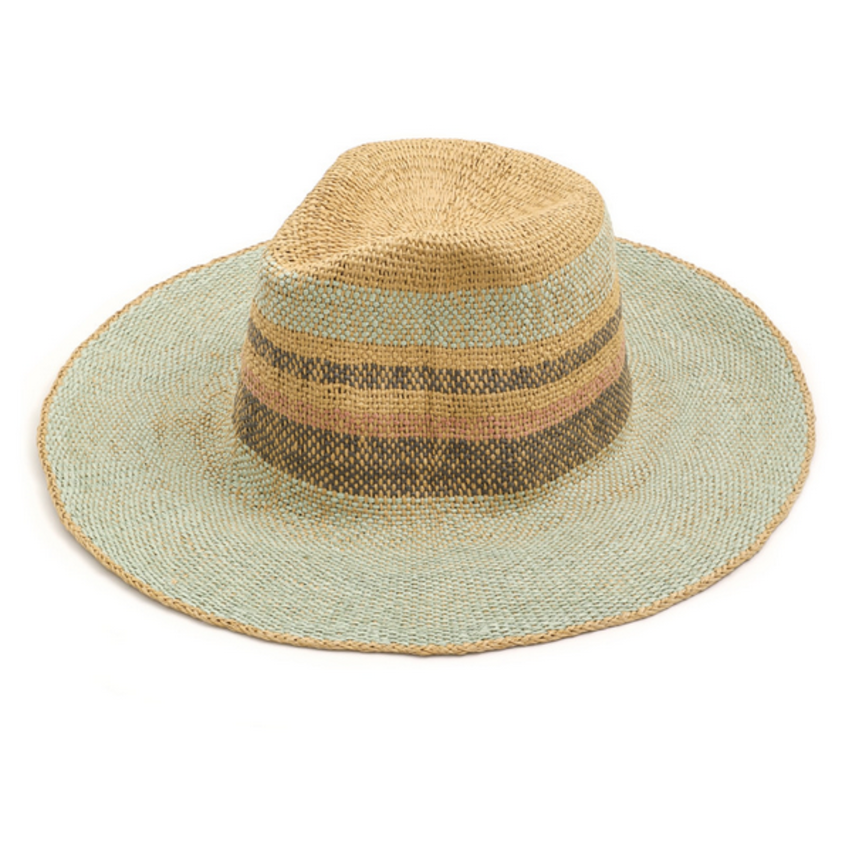 Anarchy Street Multi Color Straw Hat