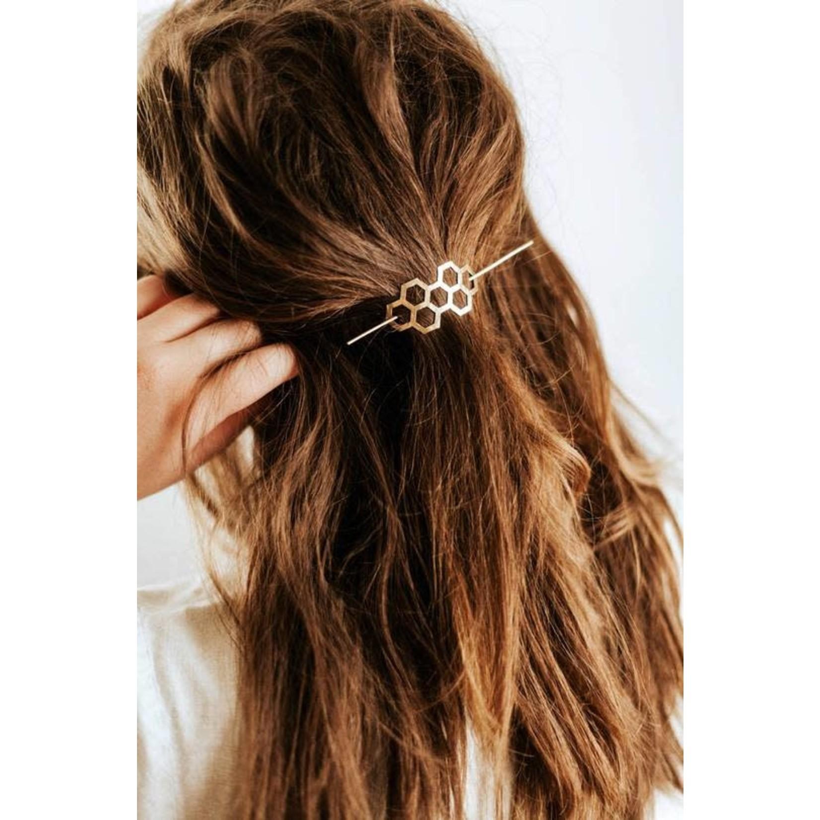 Pauline Stanley Studio Honeycomb Hair Pin