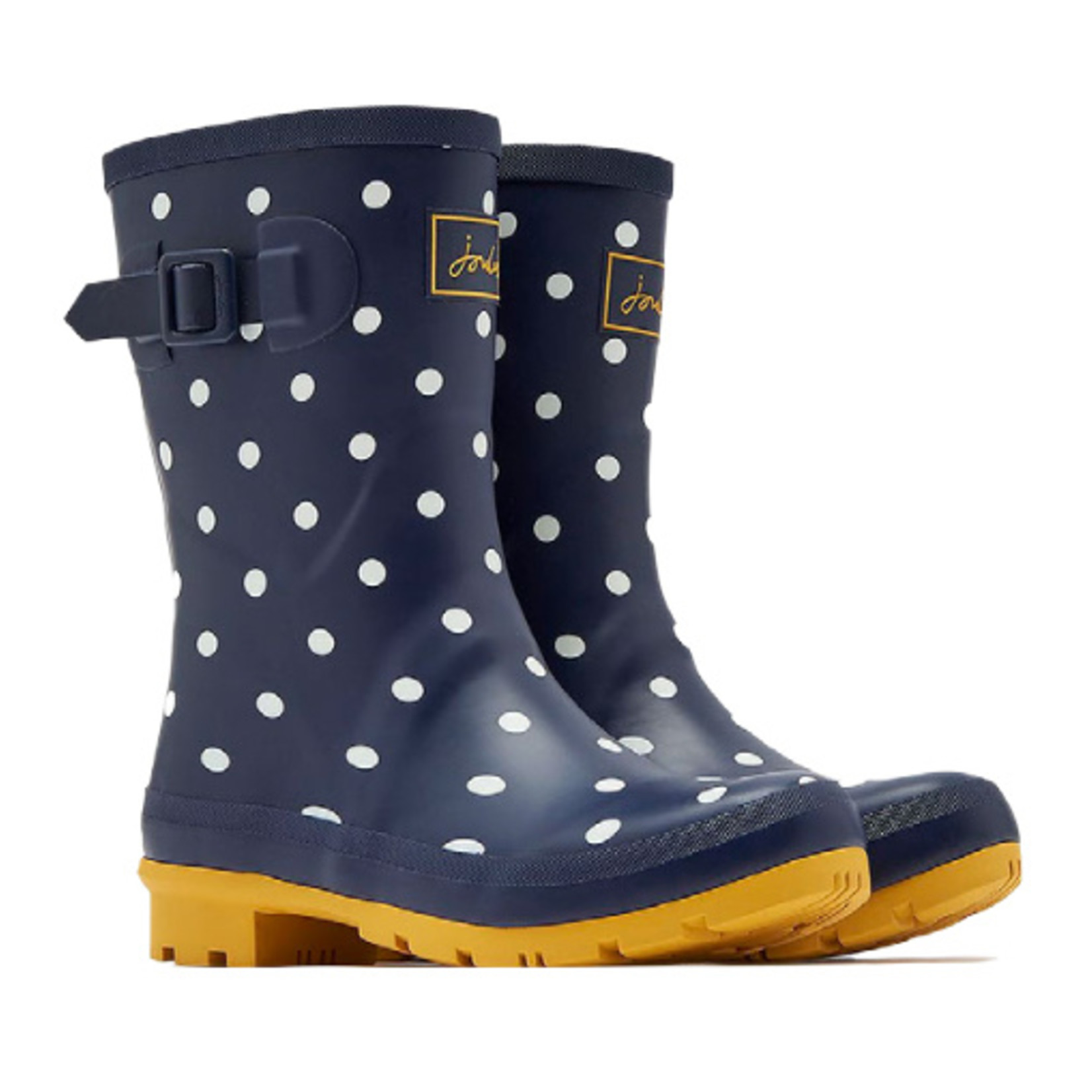 Joules Molly Rainboots French Navy Spot