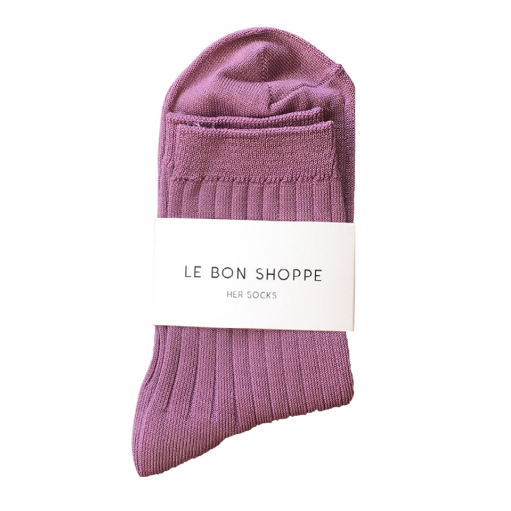 Le Bon Shoppe Her Socks Orchid