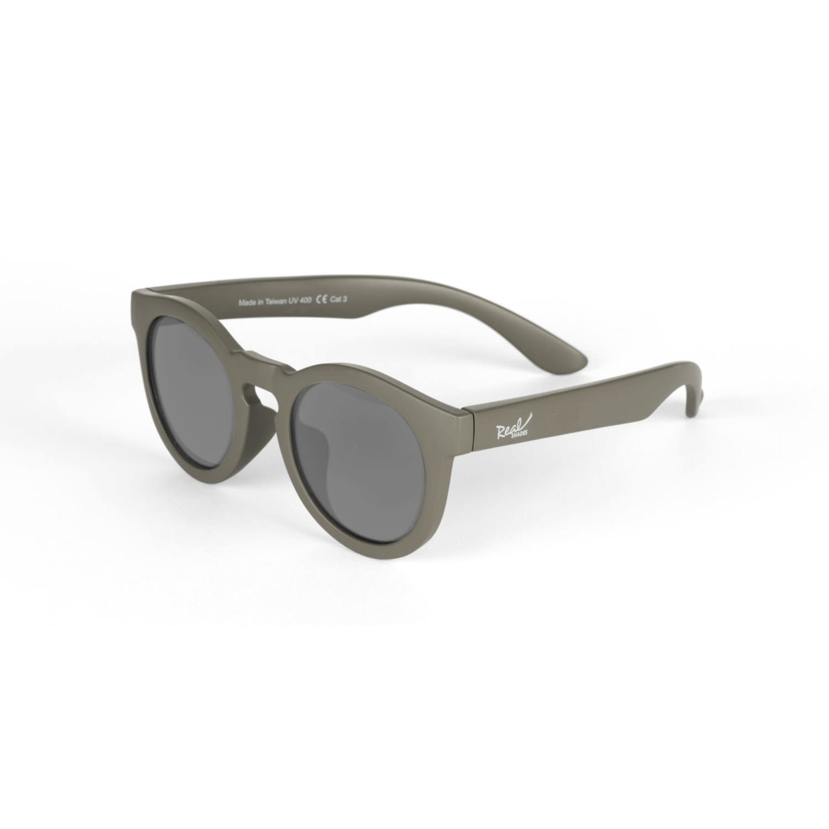 Real Shades Youth Chill Flexible Frame Sunglasses Military Olive