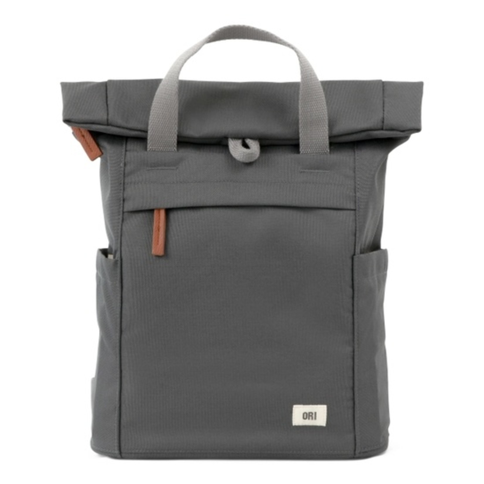 Ori London Finchley Small Sustainable Backpack Carbon