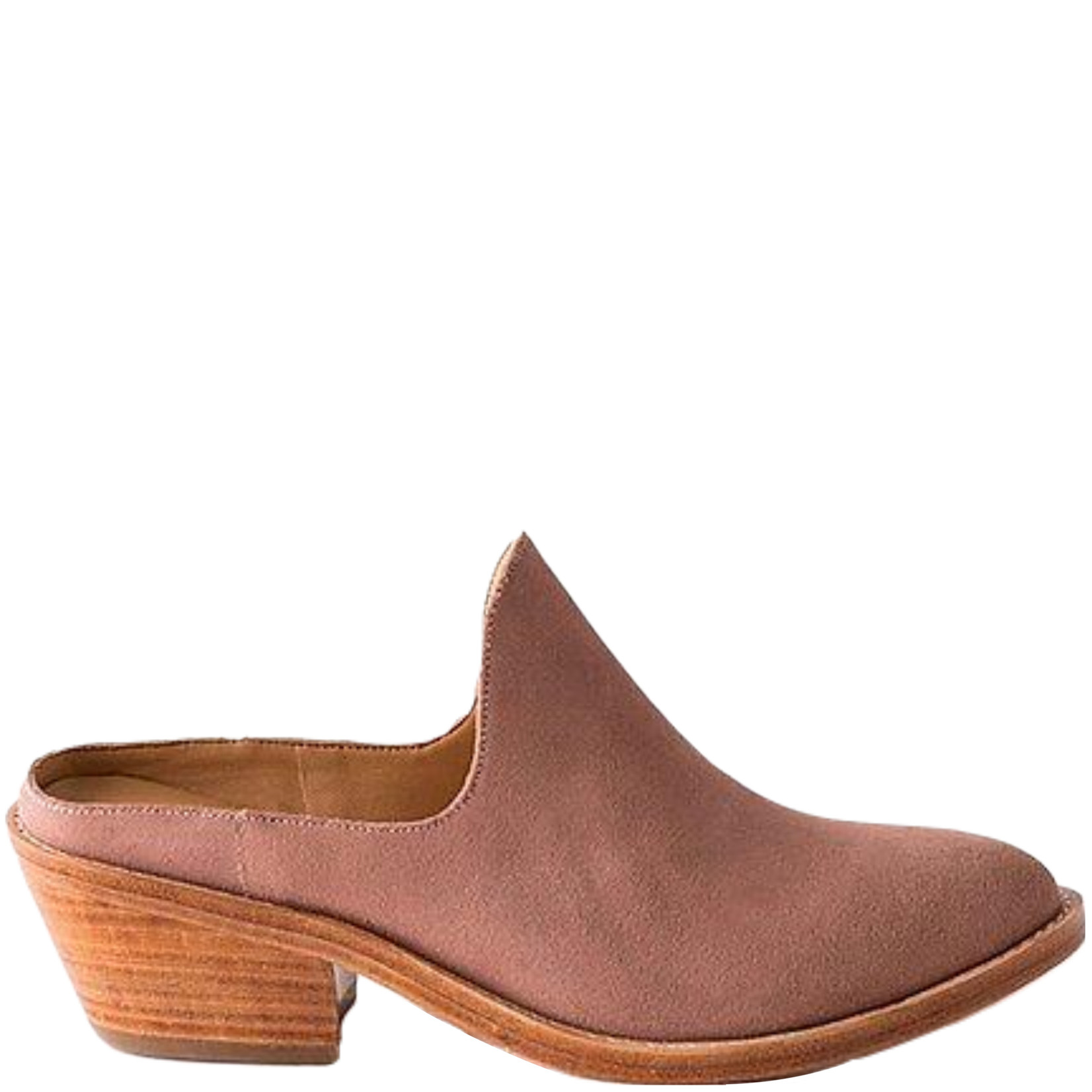 Fortress Michelle Mule Rose Suede