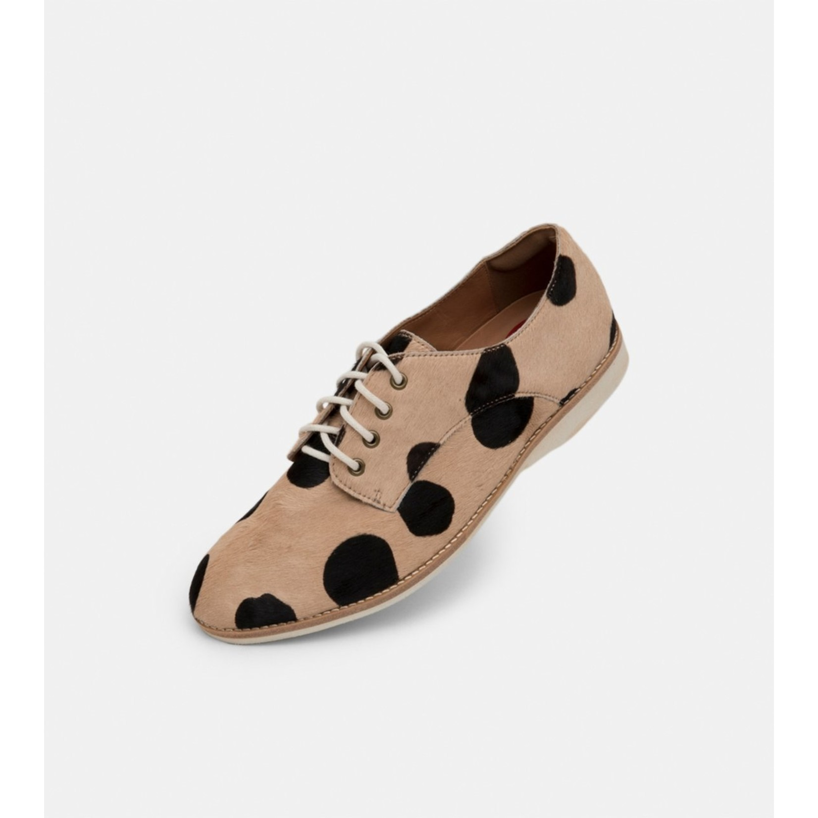 Rollie Derby Beige and Black Spots