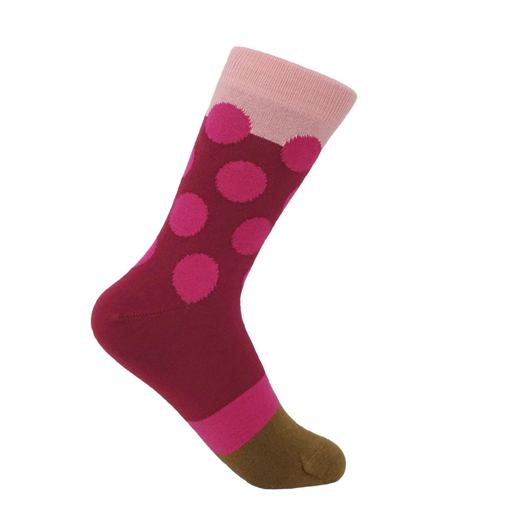 Peper Harow Eleanor Socks Raspberry