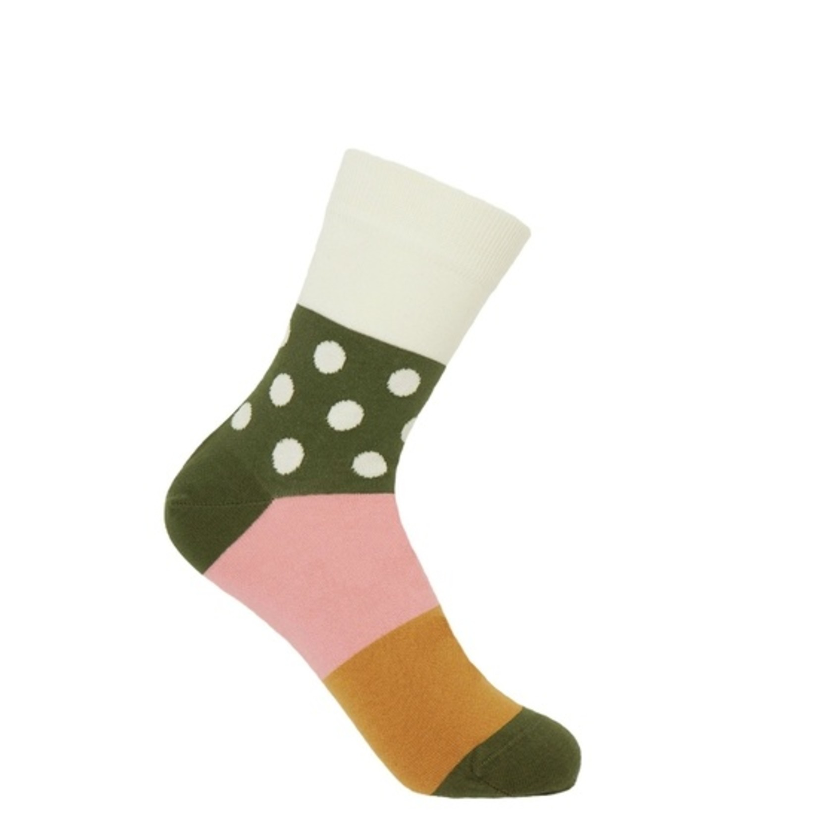 Peper Harow Mayfair Socks Cream