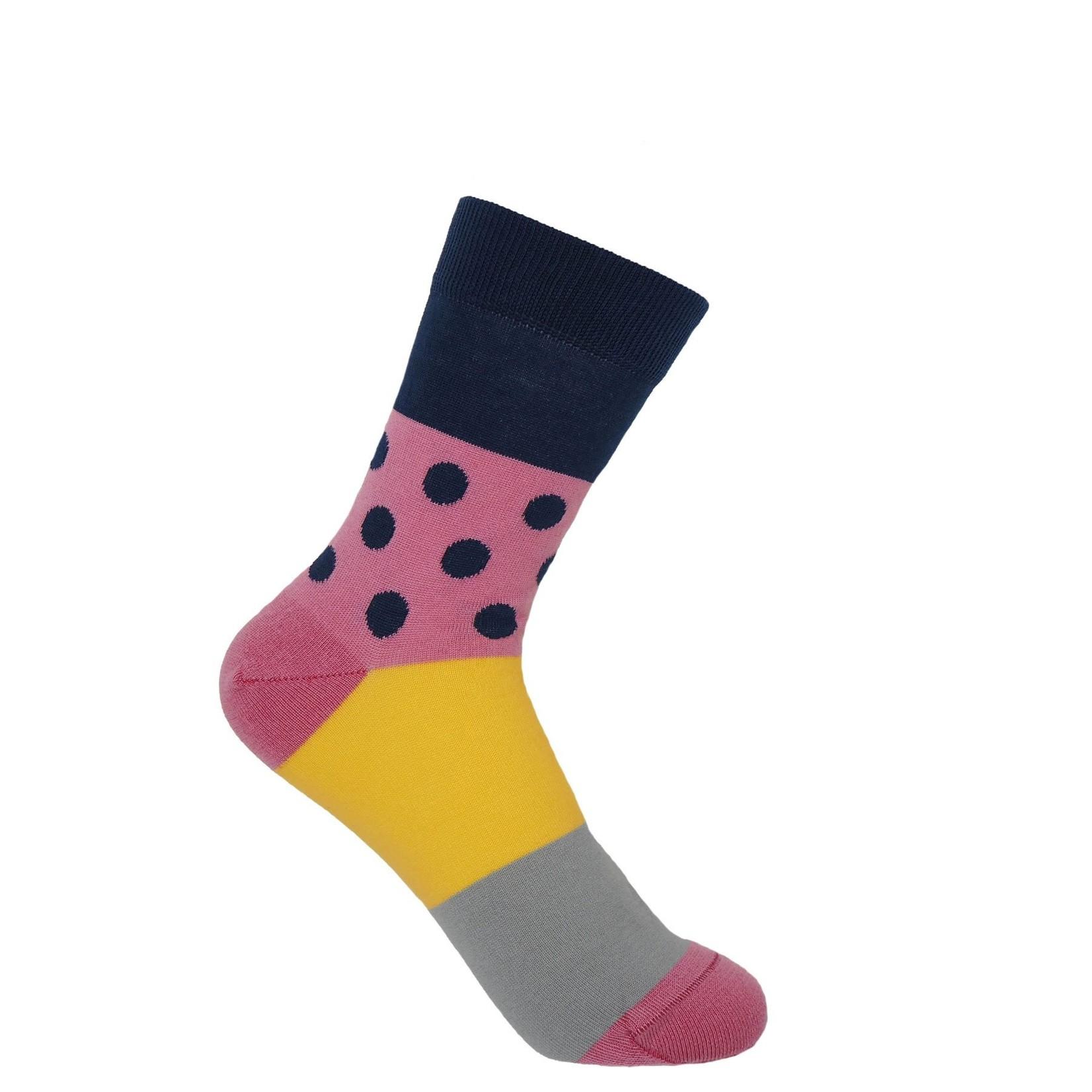 Peper Harow Mayfair Socks Navy
