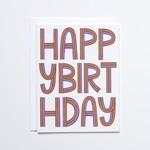 Banquet Workshop Rainbow Happy Birthday Card