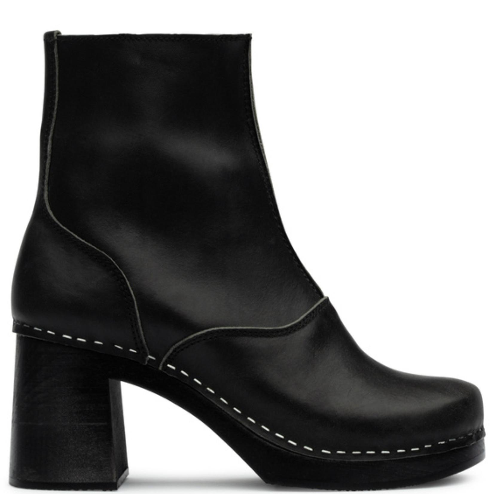 Swedish Hasbeens Sixties Boot Black