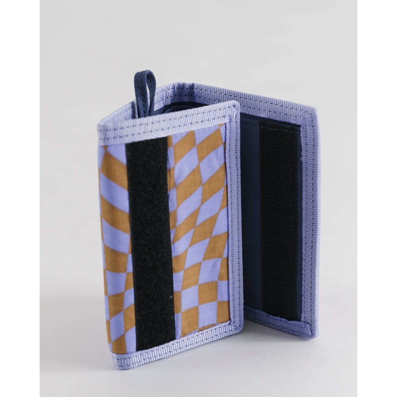 Baggu Nylon Wallet Trippy Checker