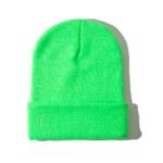 Rainbow Unicorn Margaret Hat Neon Green