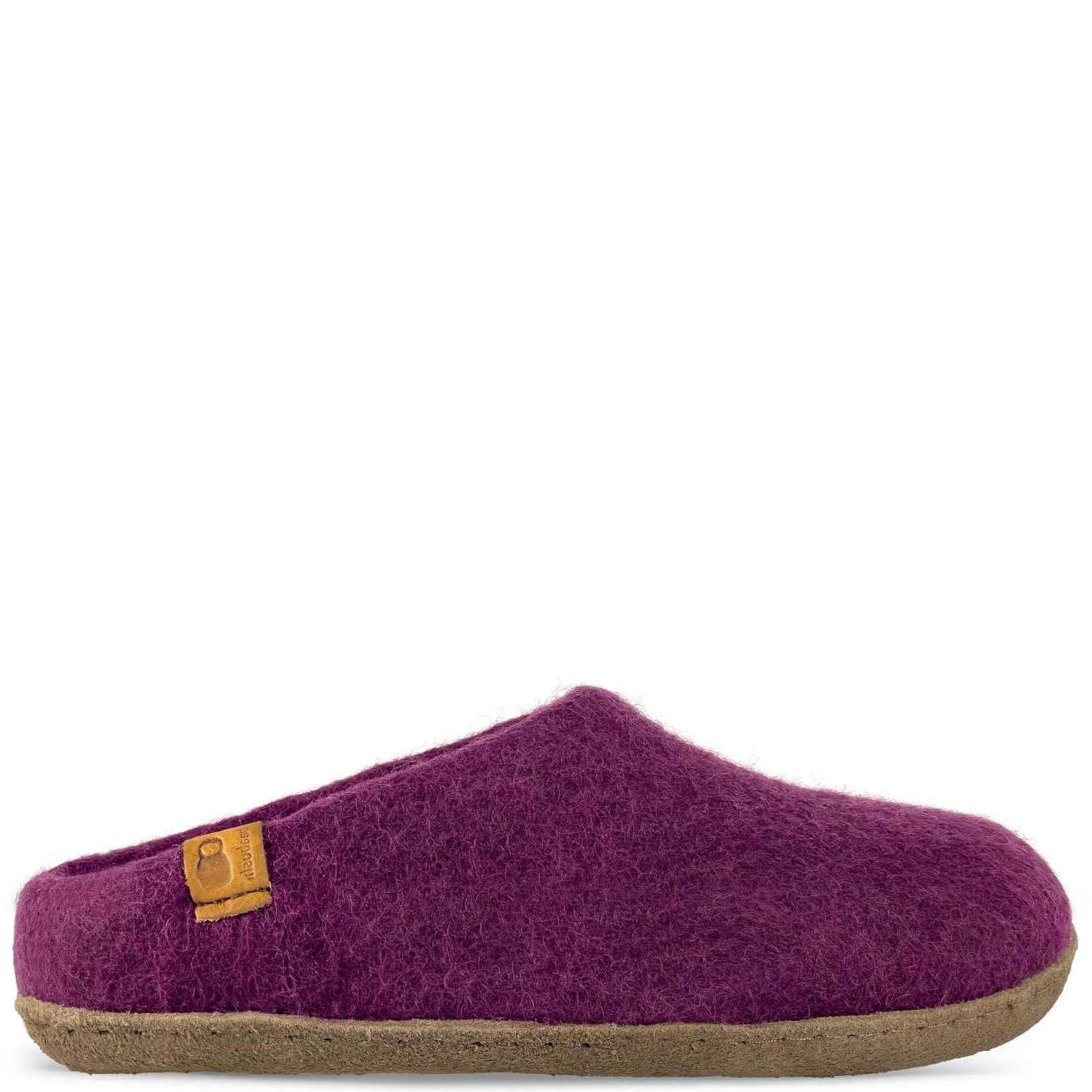 Baabushka Wool Slippers Merlot