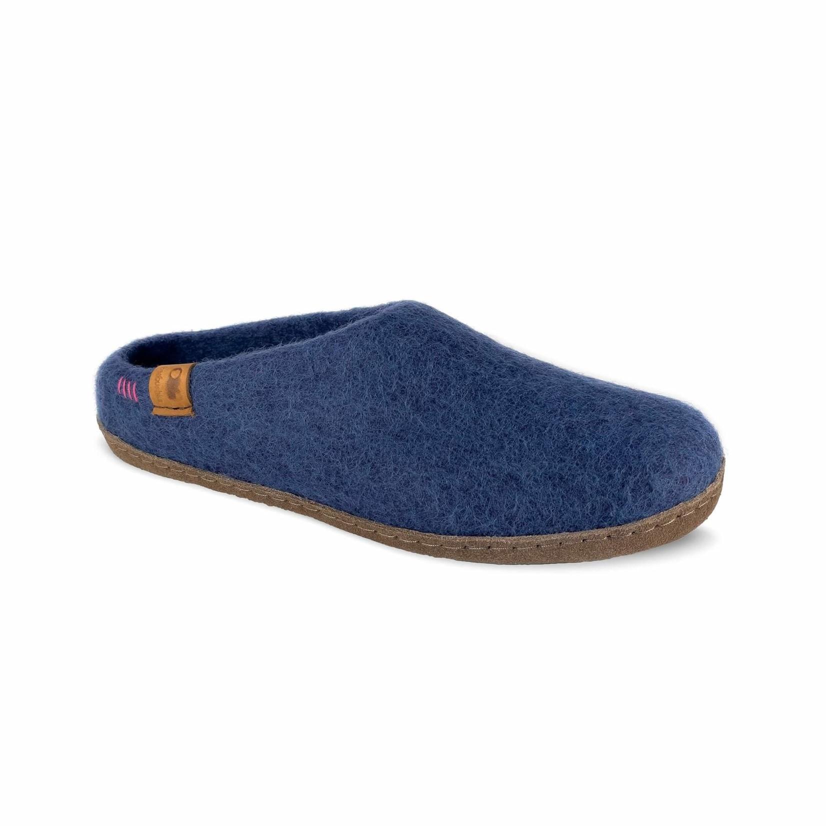 Baabushka Wool Slippers Denim