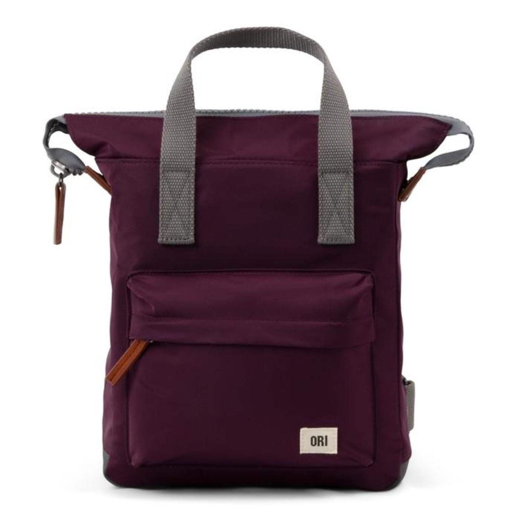 Ori London Bantry B Small Backpack Plum