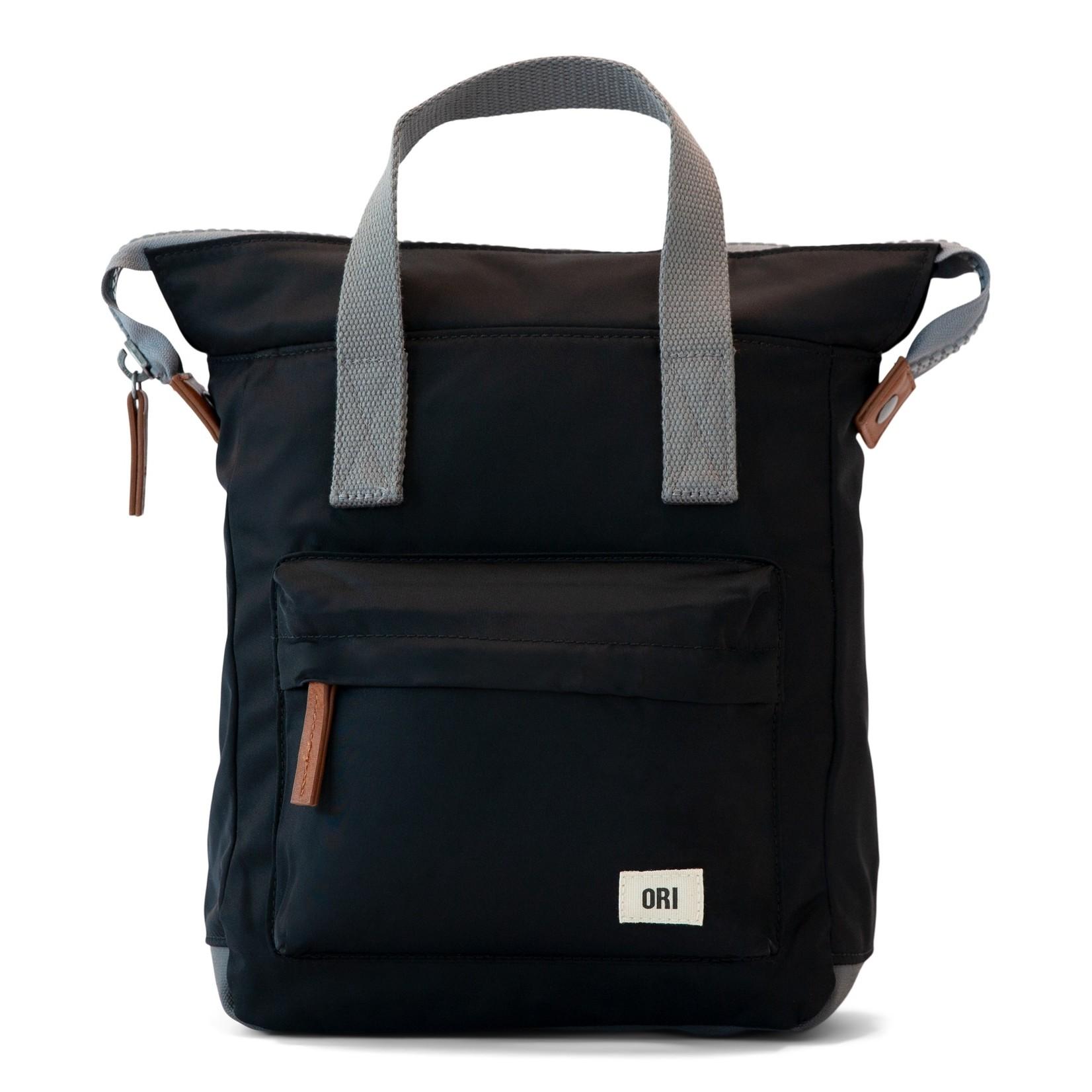 Ori London Bantry B Medium Sustainable Backpack Black