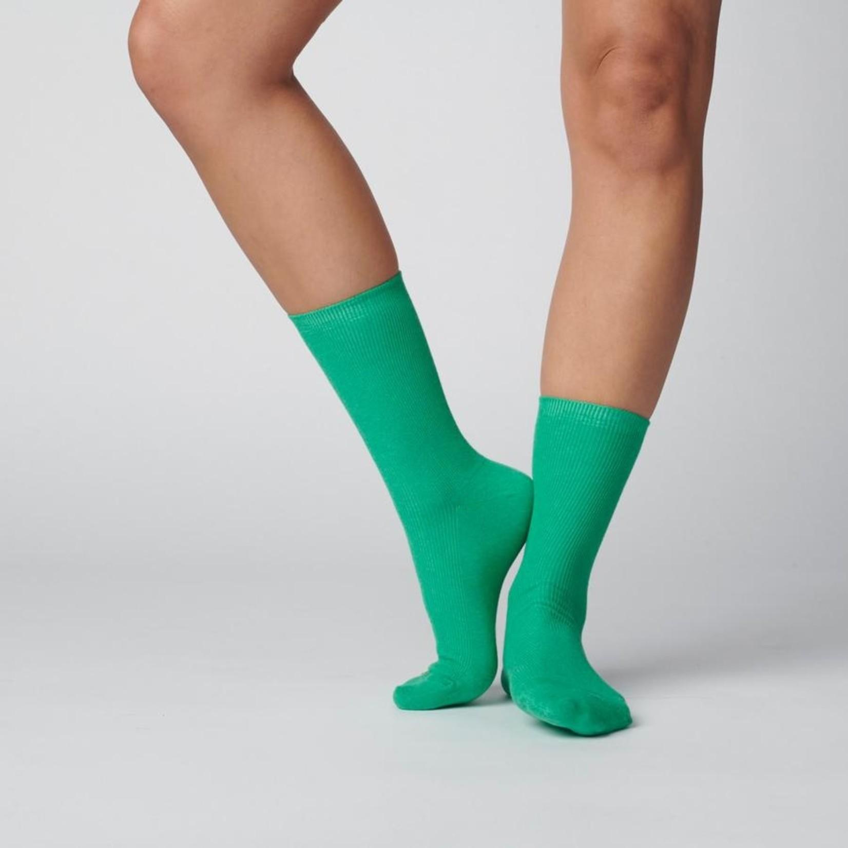 Hooray Sock Co. Everyday Cotton Socks Kelly Green