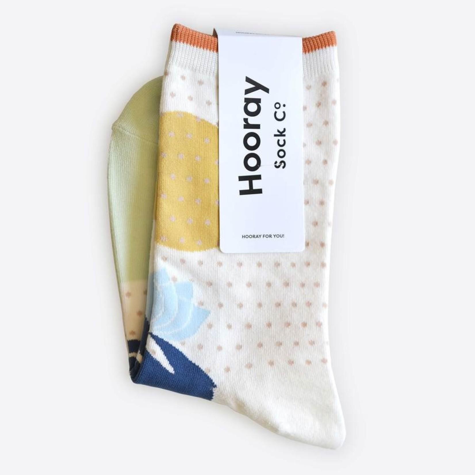 Hooray Sock Co. Lotus Cotton Socks