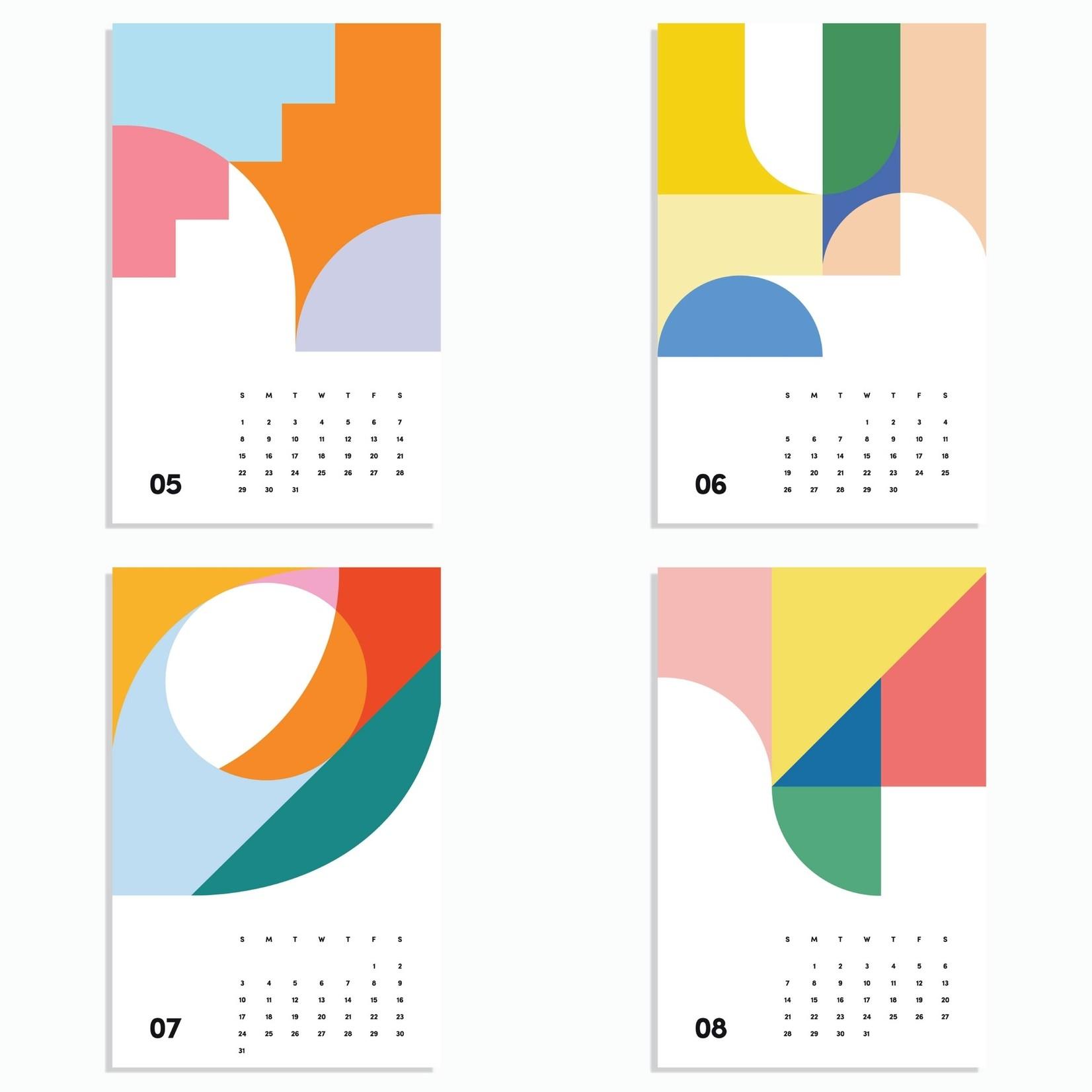 Poketo 2022 Wall Art Calendar