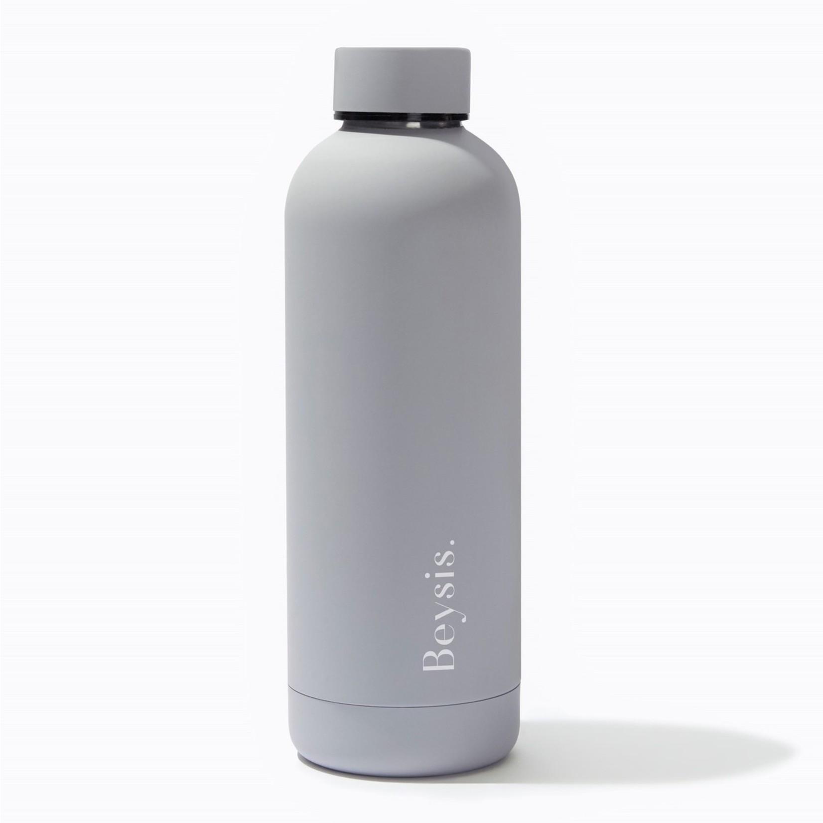 Beysis Water Bottle 17oz Cool Grey