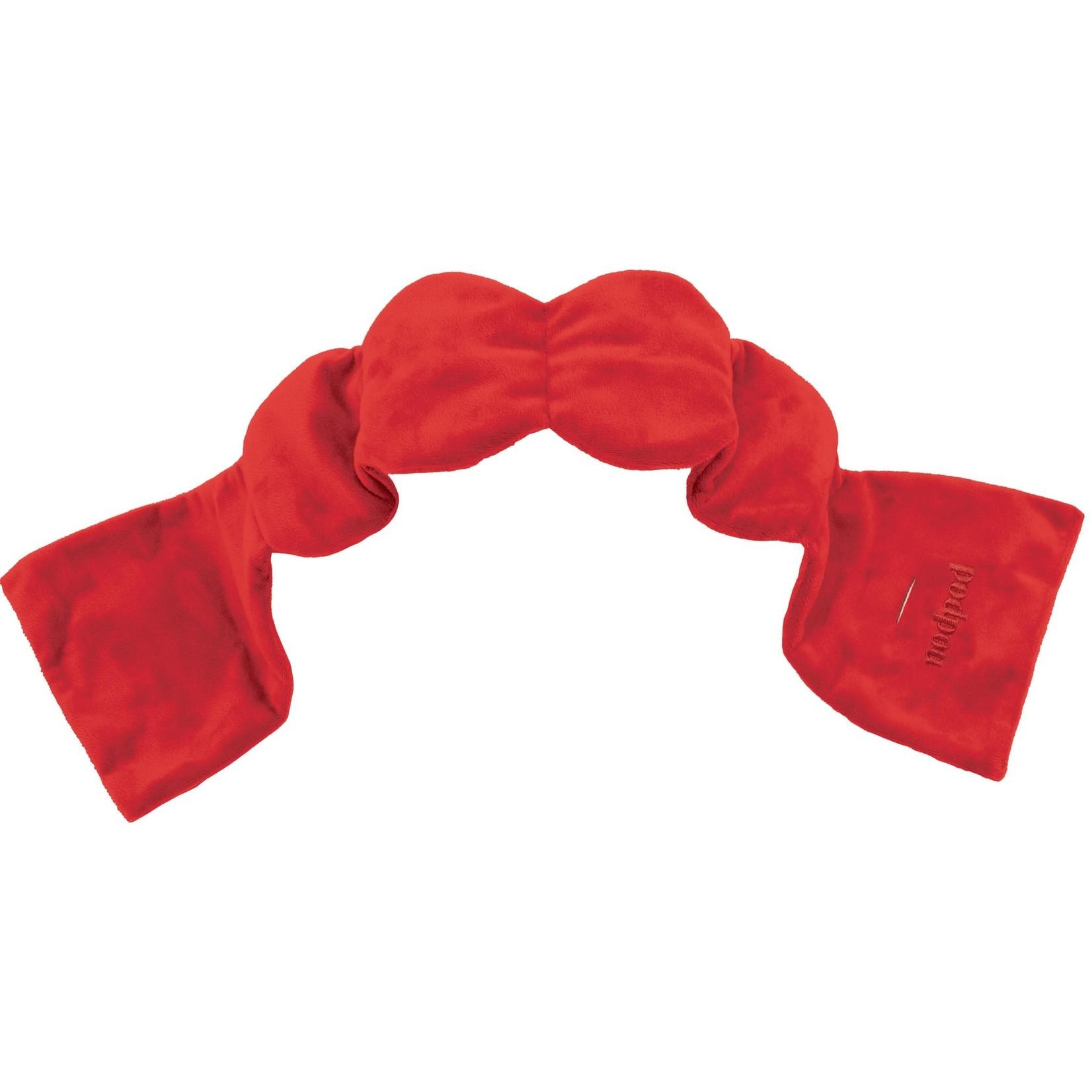 nodpod Weighted Sleep Mask Cherry Red
