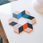 FK Living Areaware Table Tiles - Modern Multi