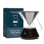 FK Living RJ3 Pour Over Coffee Maker with Filter