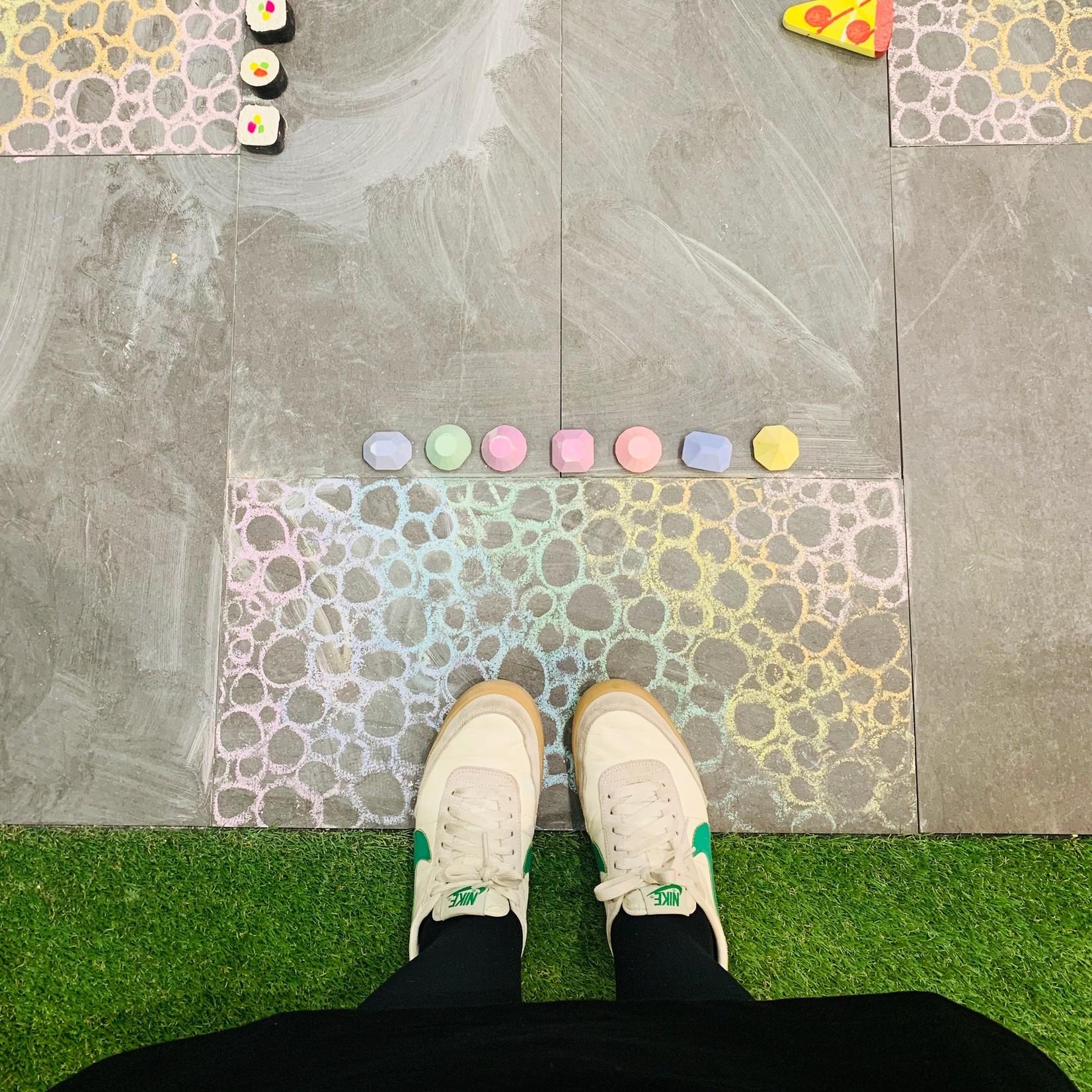 love, june Gemstone Sidewalk Chalk