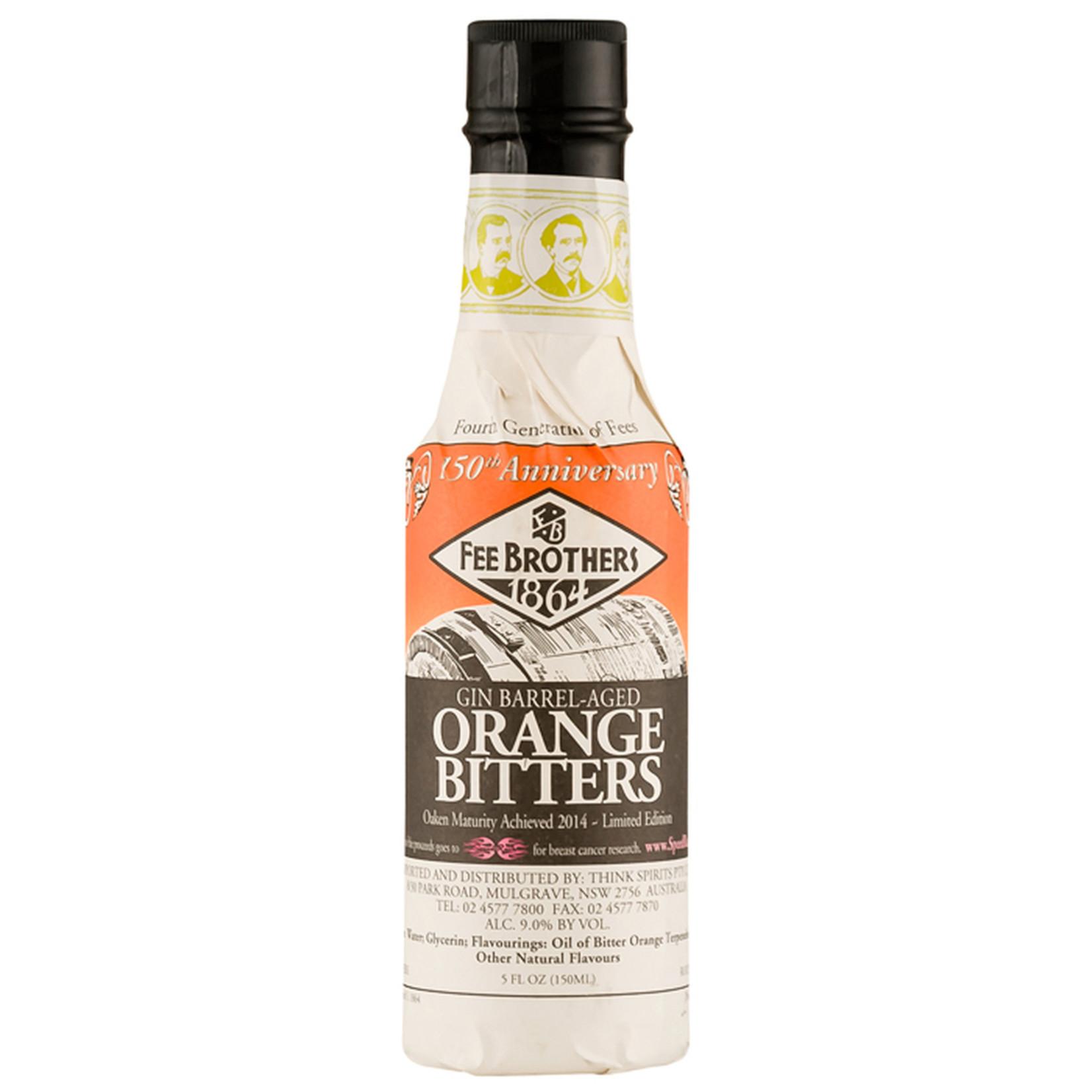 Fee Brothers Fee Brothers Bitters Gin Barrel Aged Orange