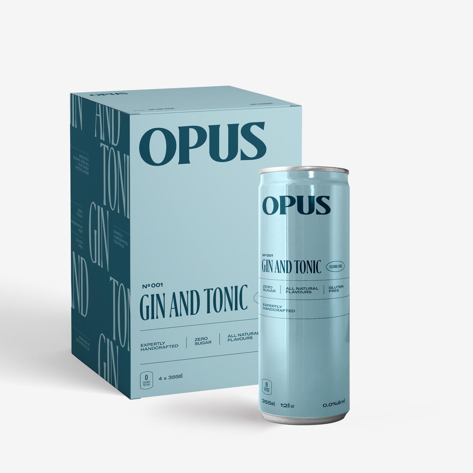 Opus Non Alcoholic Gin & Tonic