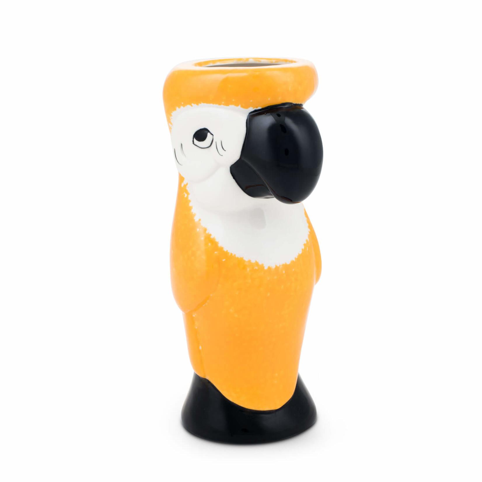 Polly Want A Nightcapper Tiki Mug Yellow
