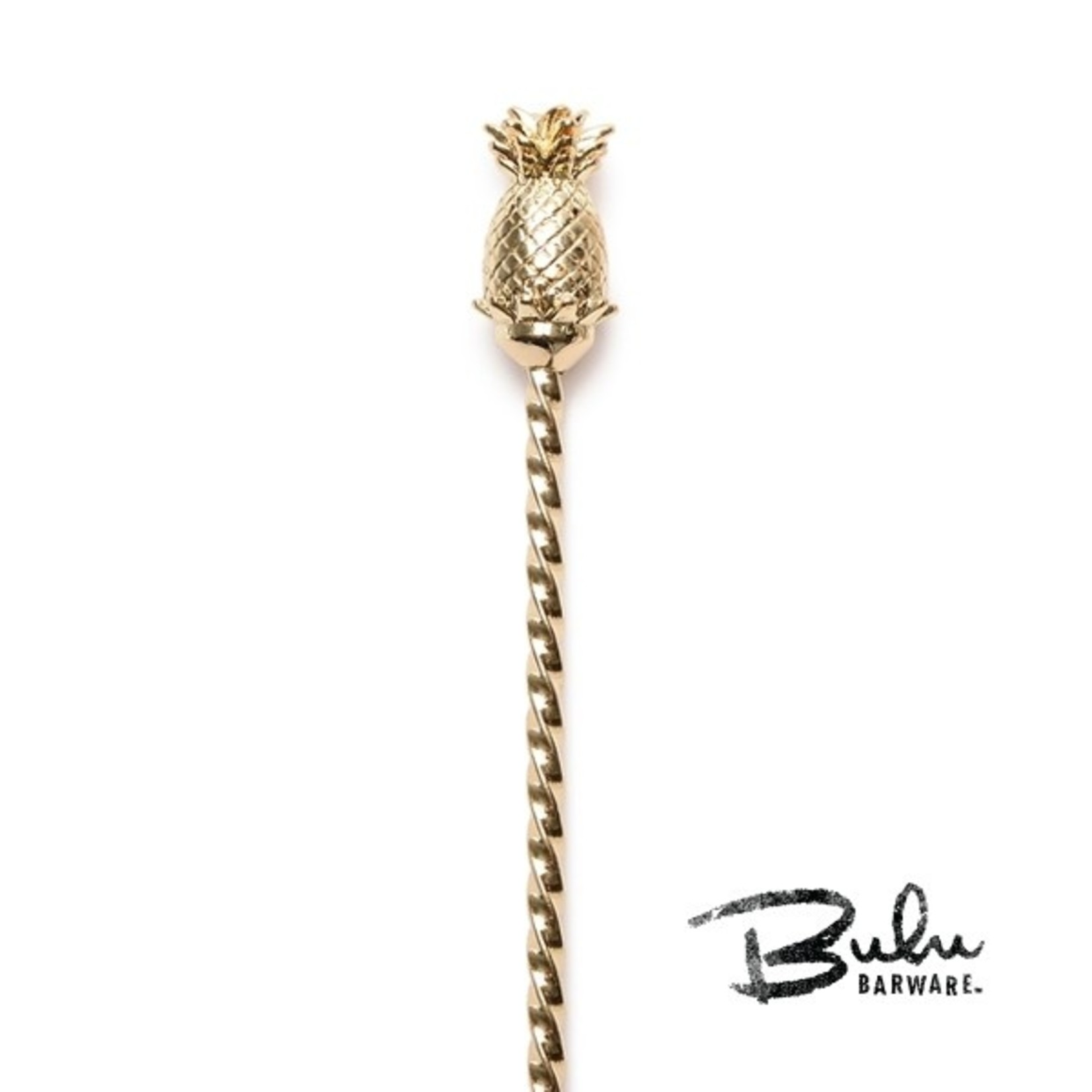 Cocktail Kingdom Bulu Pineapple Barspoon Gold