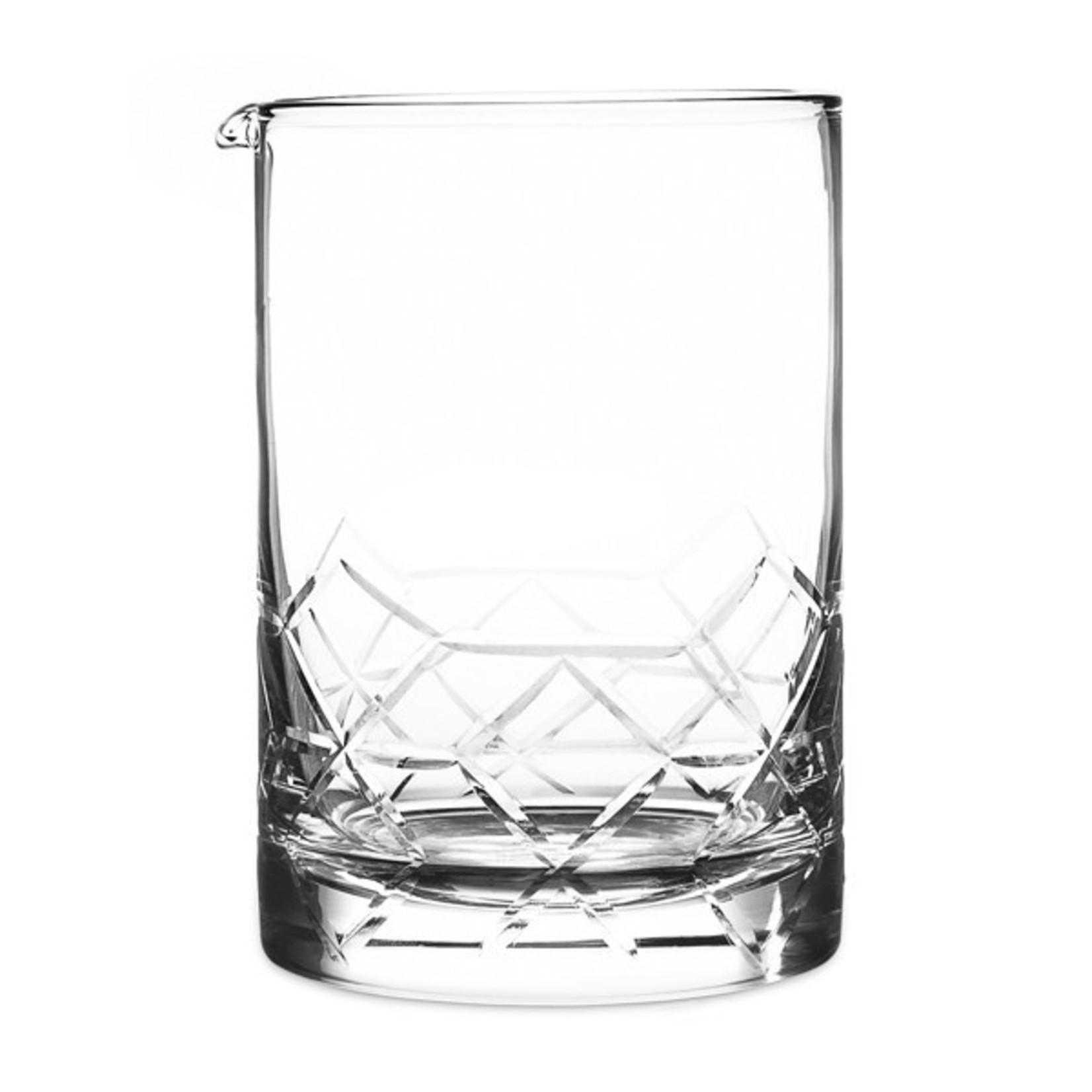 Cocktail Kingdom Seamless Asanoha Mixing Glass Extra Large