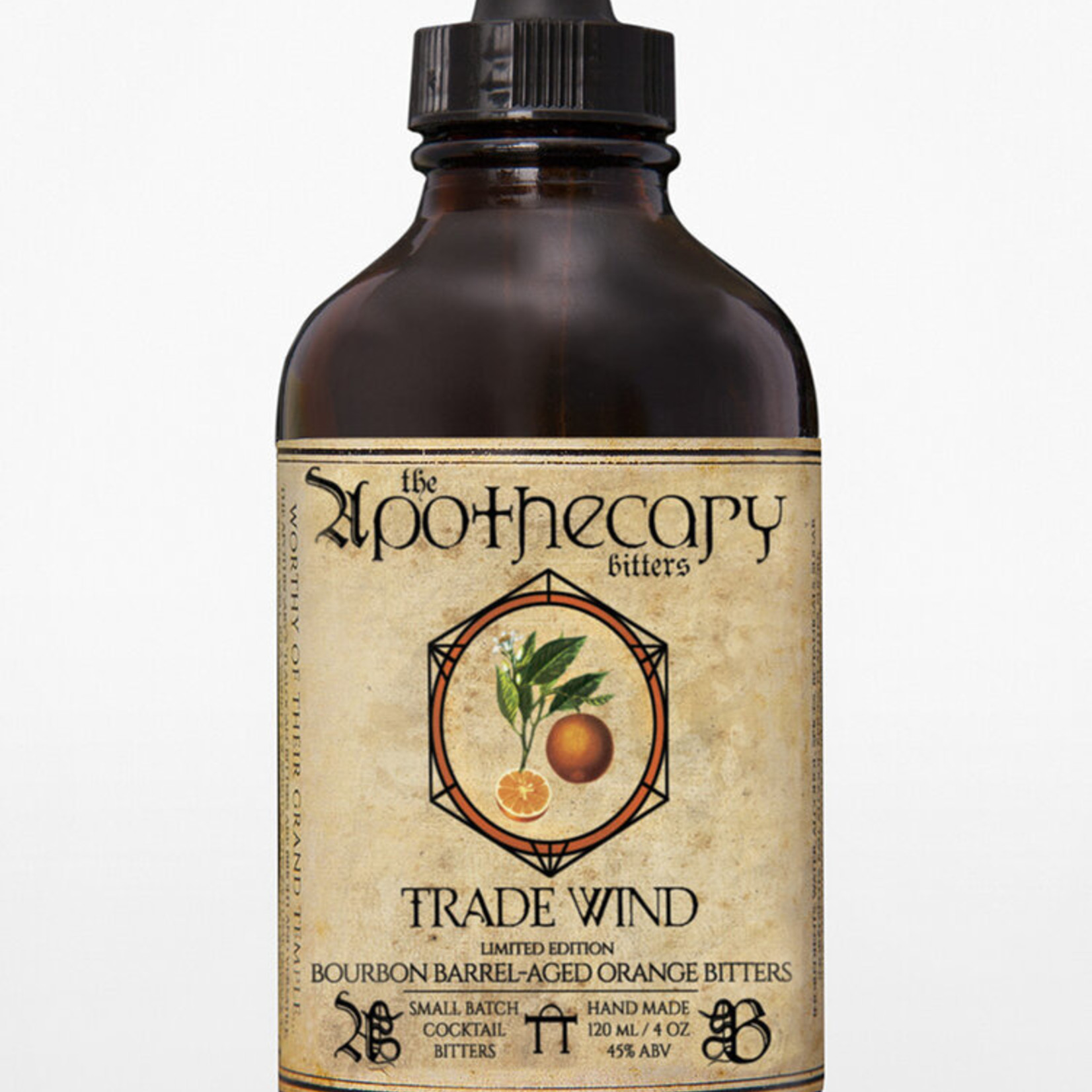 Apothecary Apothecary Bitters Trade Wind Barrel Aged Orange