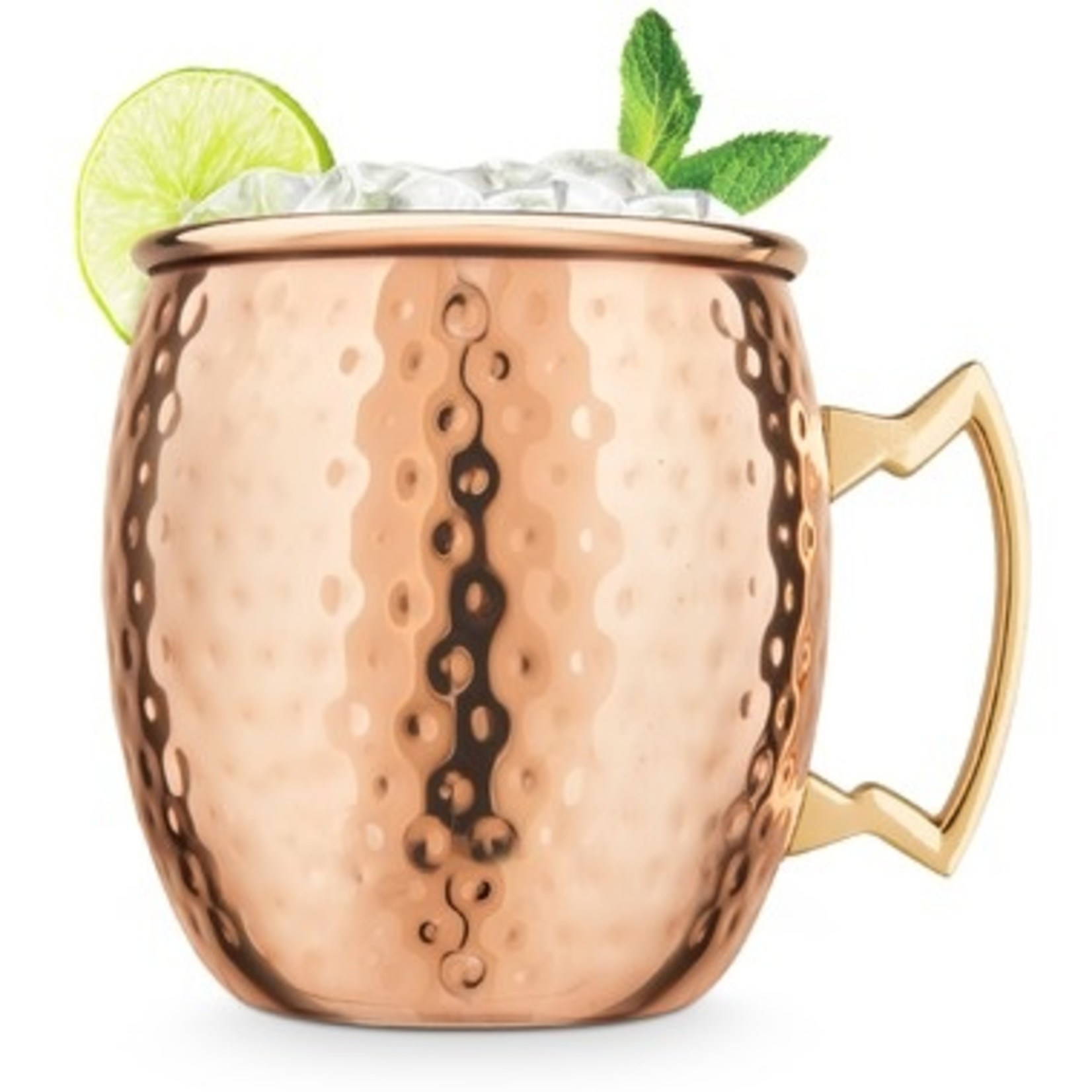 Final Touch Final Touch Moscow Mule Mug Hammered