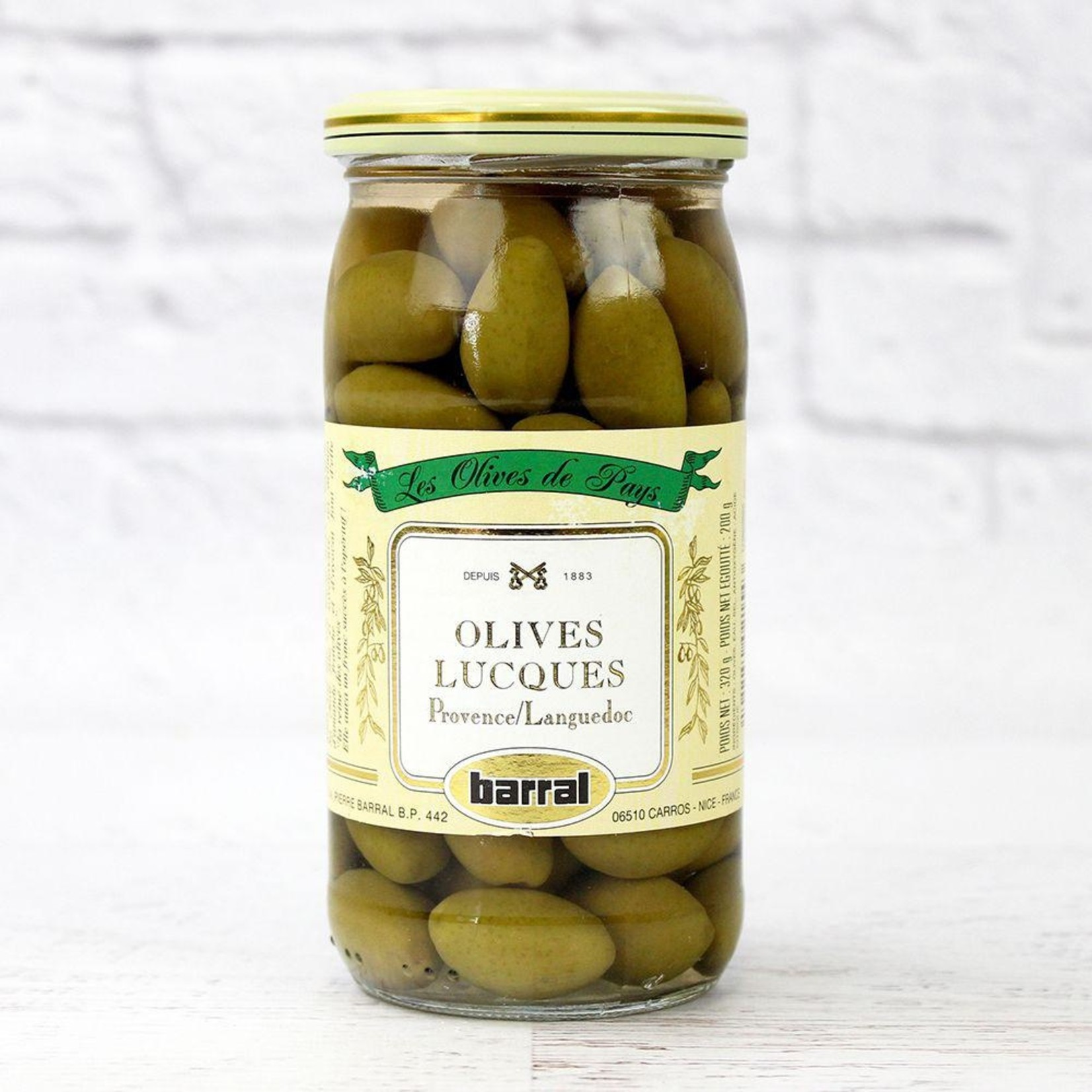 Barral Lucques Green Olives