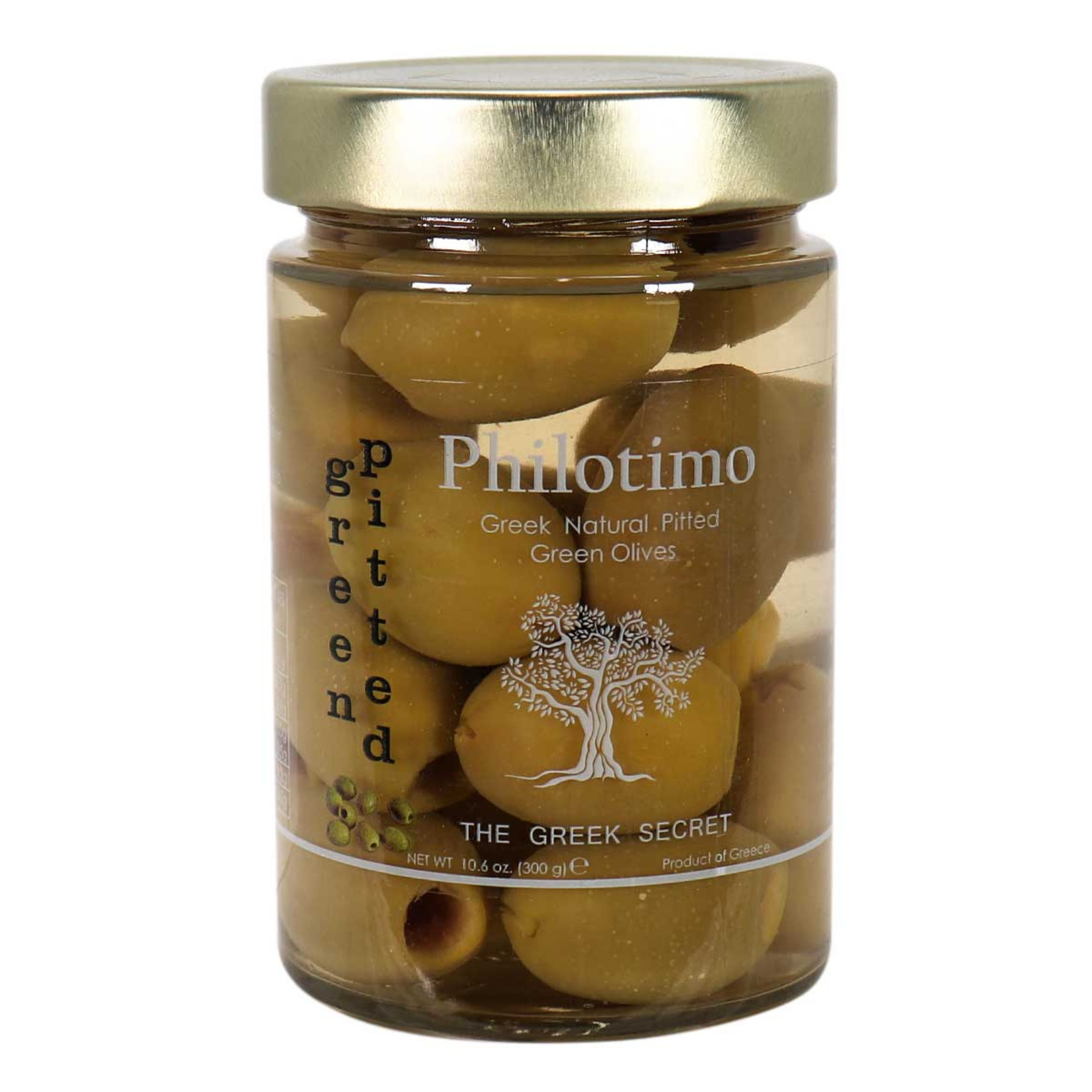 Philotimo Green Pitted Olives