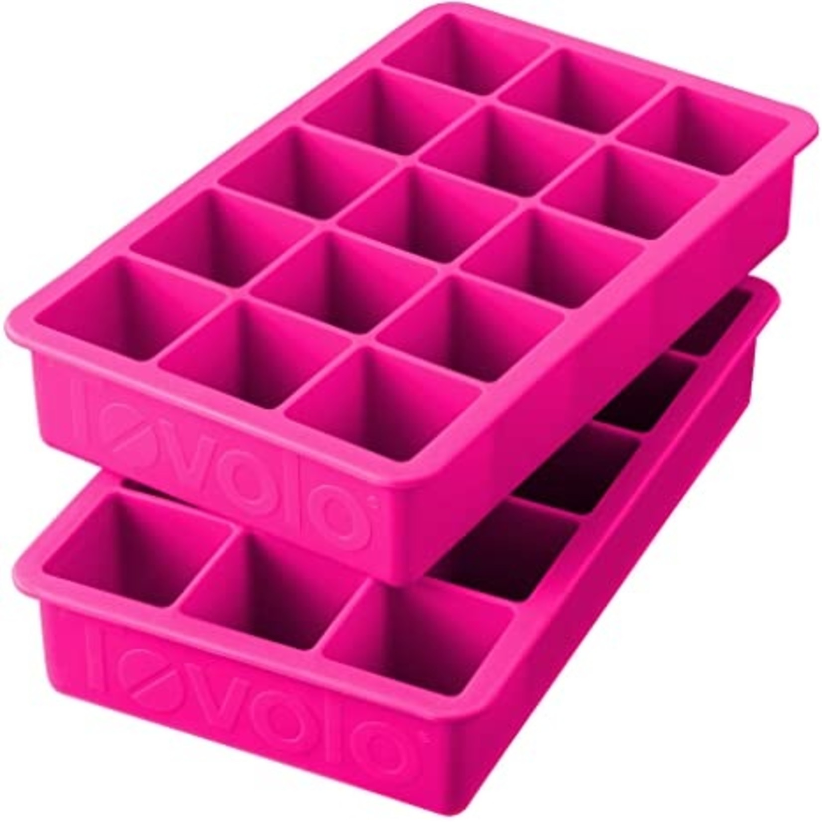 Tovolo Perfect Cube Ice Tray Watermelon Pink