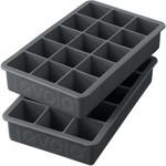 Tovolo Perfect Cube Ice Tray Slate Grey